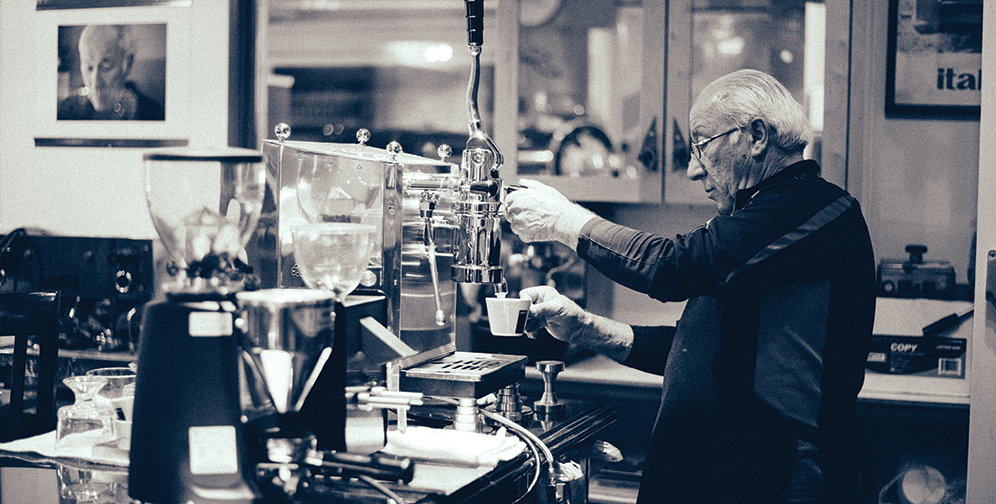 This Man Makes the World's Coolest Espresso Machines